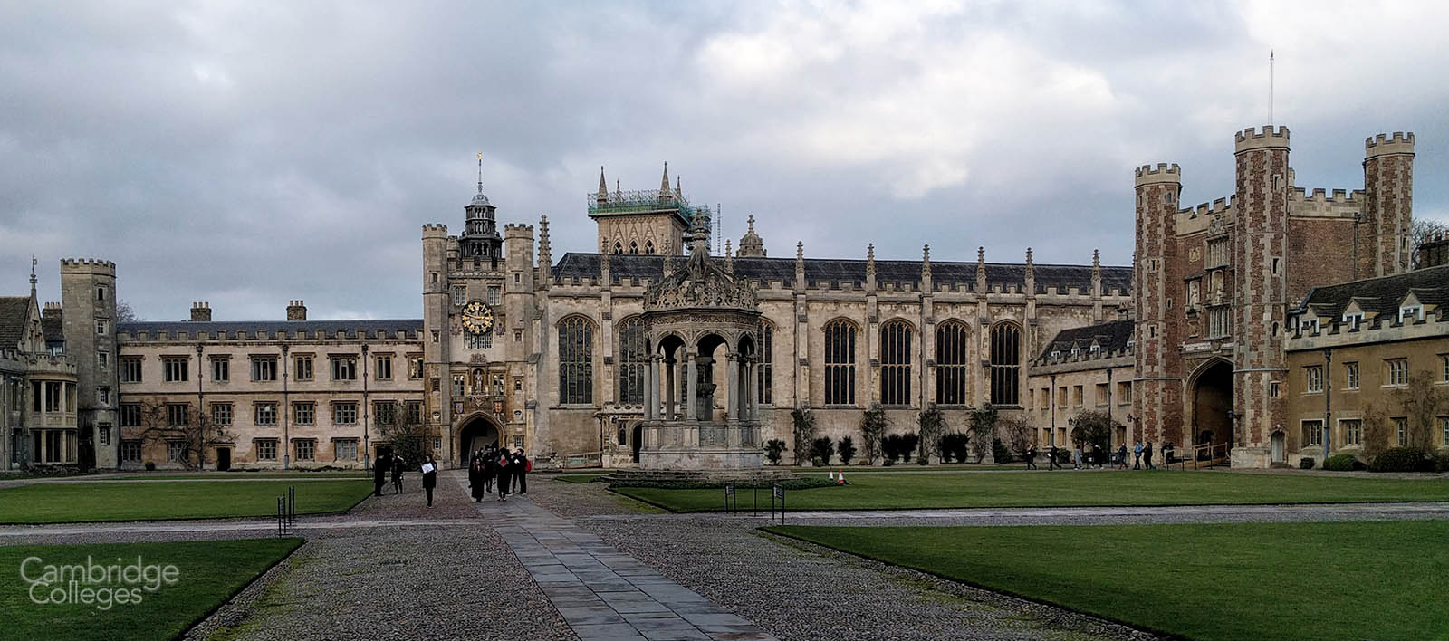 Trinity college, Cambridge's Great court