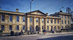 Small picture of the front of Emmanuel college