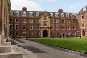 Cambridge St Cats college first court