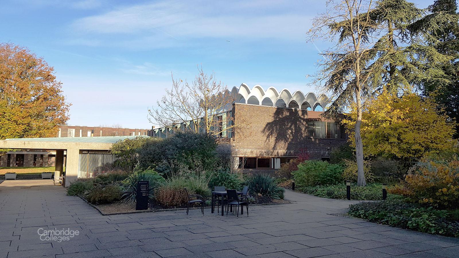 Some of the original 1960's buildings at Fitzwilliam college, Cambridge
