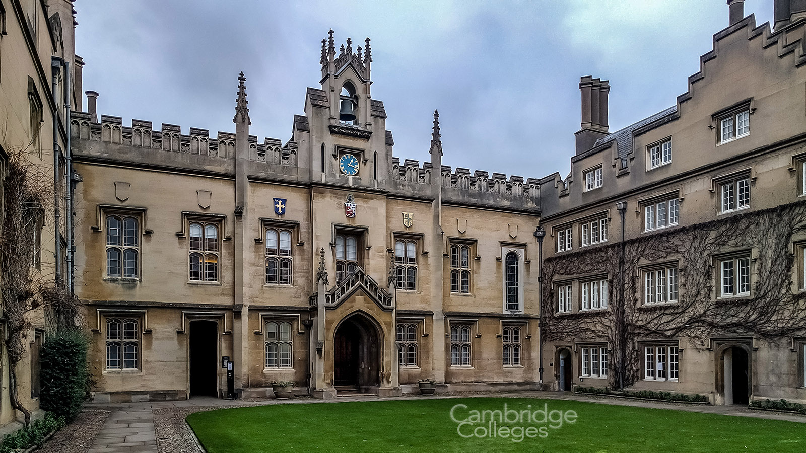 Chapel court at Sidney Sussex college, Cambridge