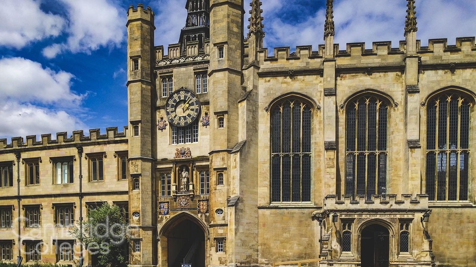 The Clock tower of Trinity collge, Cambridge