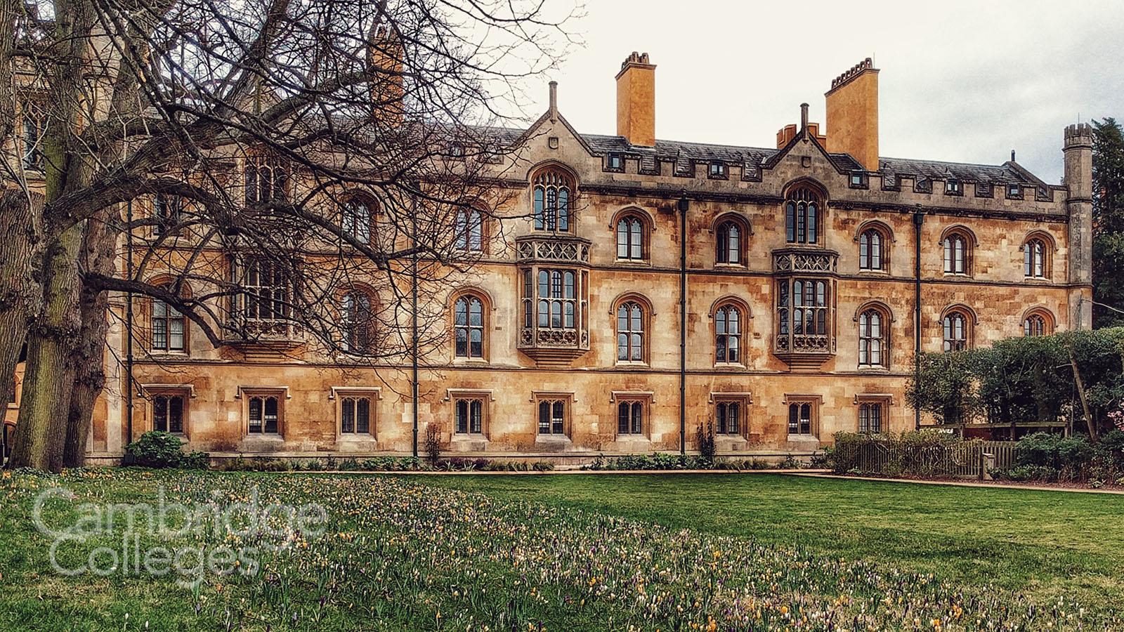 Trinity college, Cambridge, New court