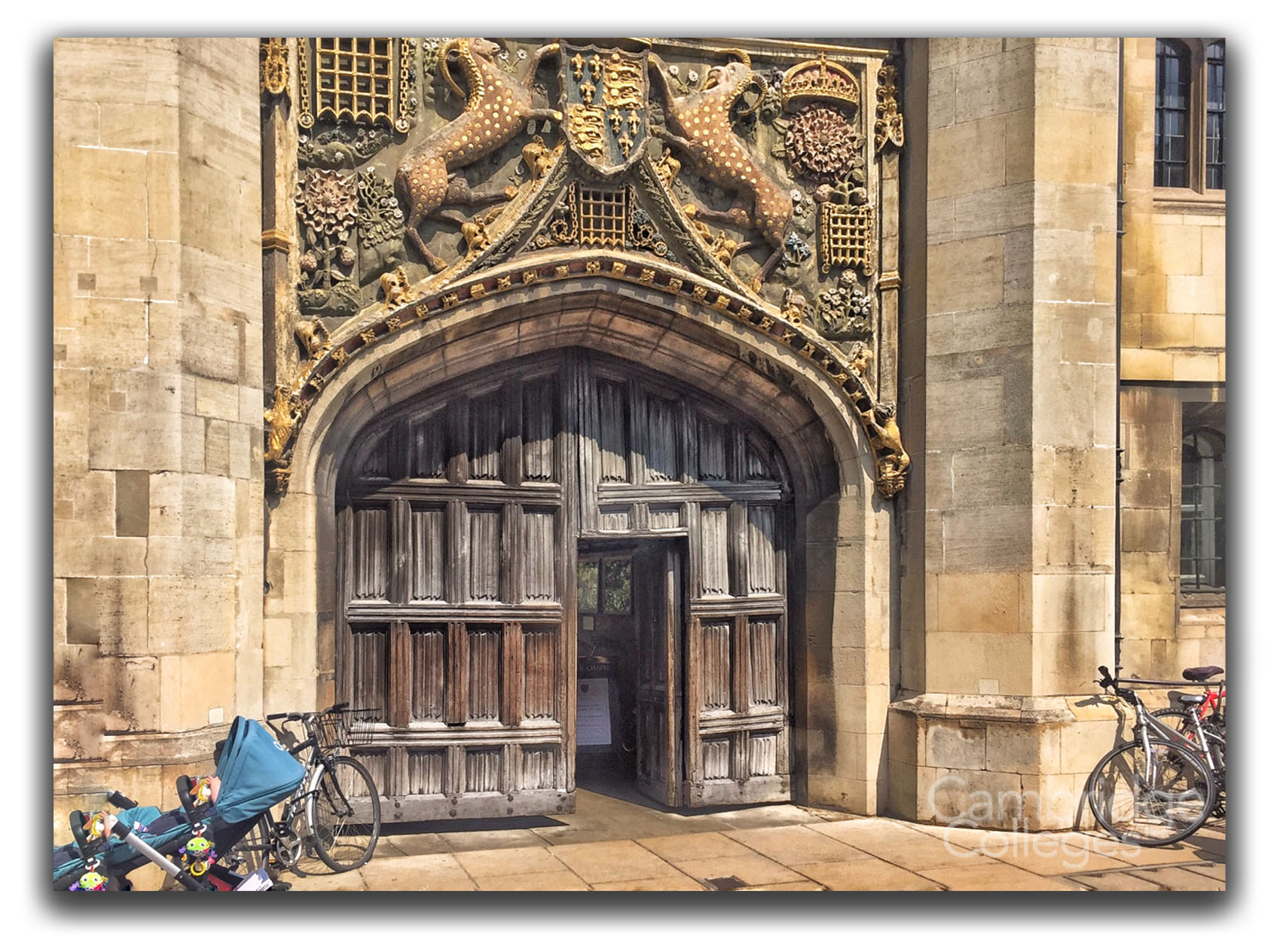 The Great Gate at Christ's College, Cambridge