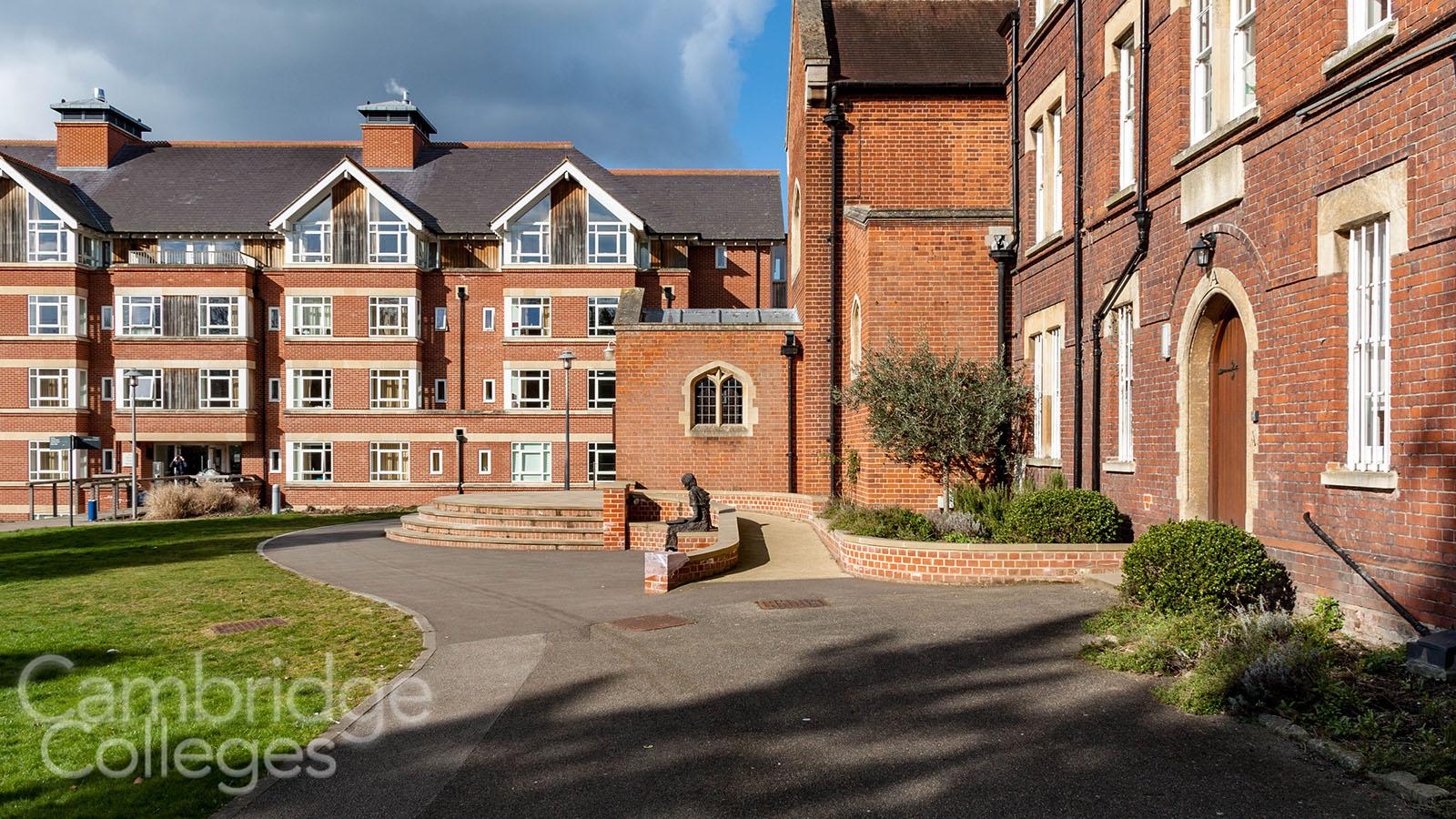 St Edmund's college Brian Heap building