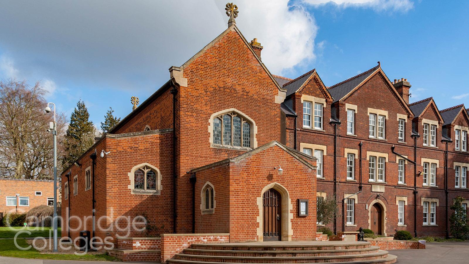 St Edmund's college chapel