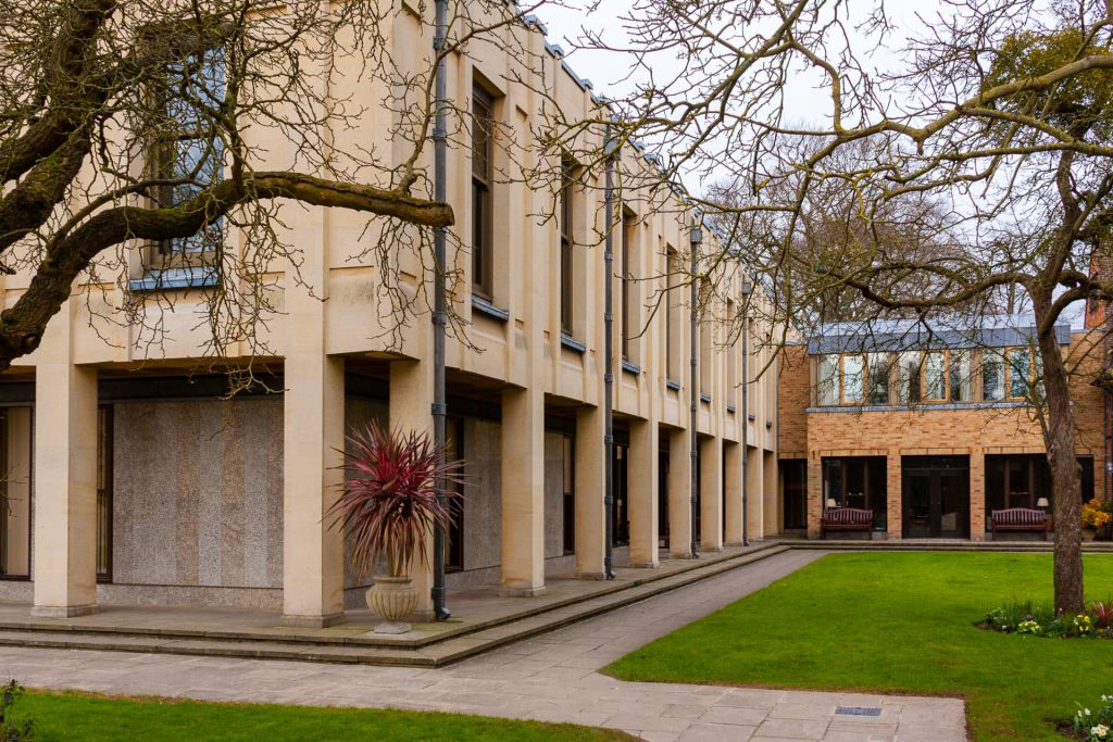Buildings at Wolfson College