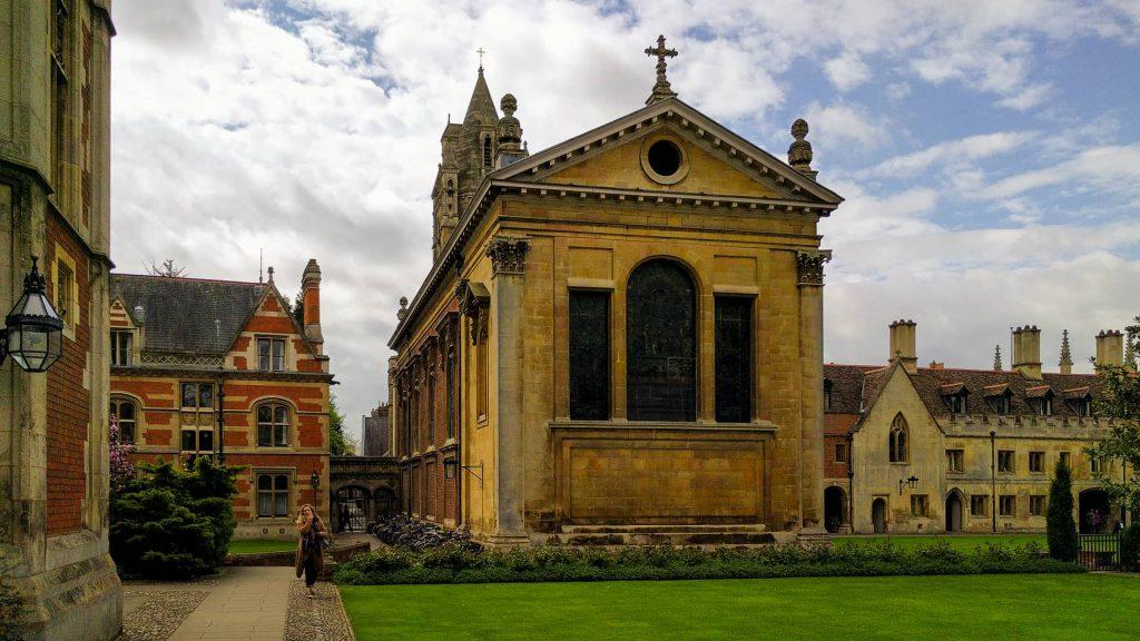 Pembroke College, Cambridge's chapel